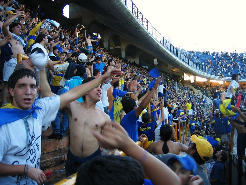 Fodboldkamp i Argentina