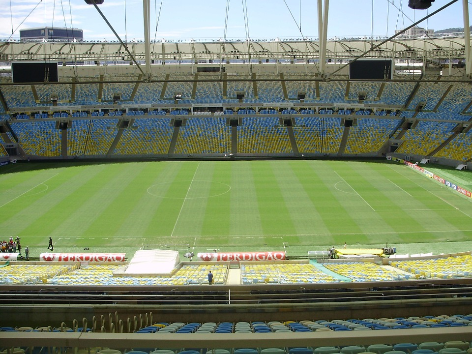 Stadion i Brasilien
