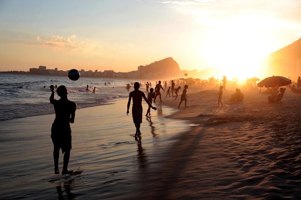 Strand i Brasilien