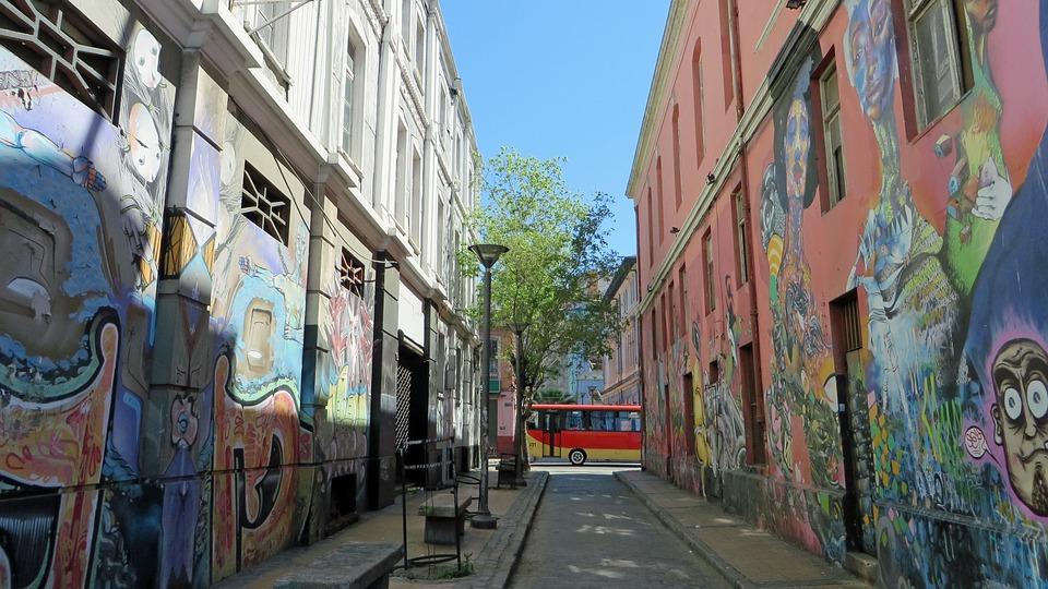 Street art i chile
