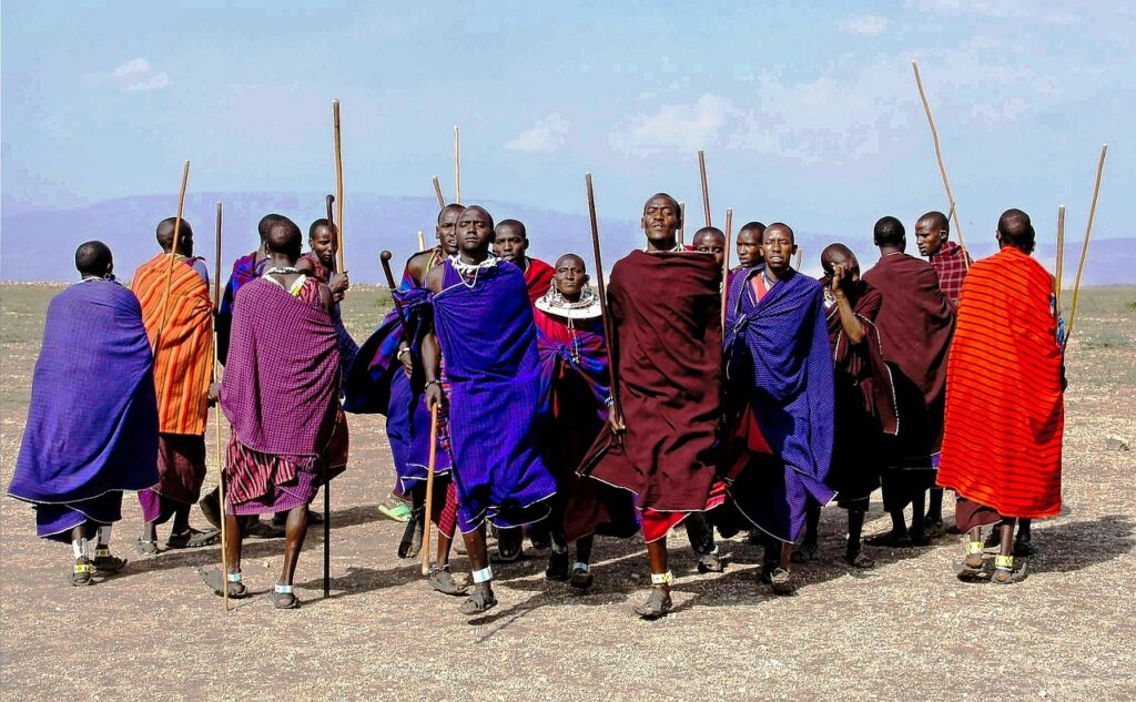 Masai-landsby