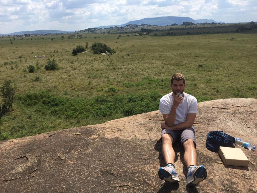 Pause på Safari