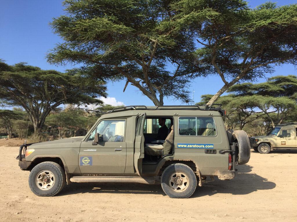 Safari-bil